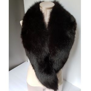 Authentic vintage mink stall thick supple pelt
